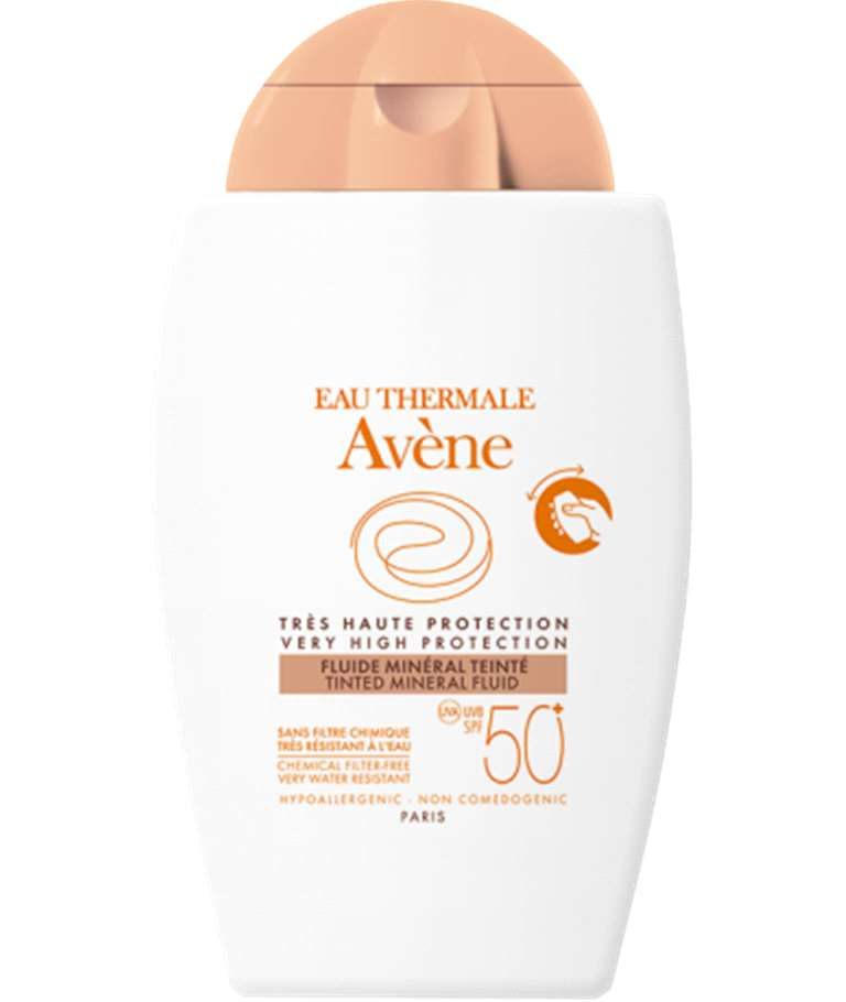 AVENE SOLAR FLUÏD MINERAL FISIC 50+ AMB COLOR 40ML