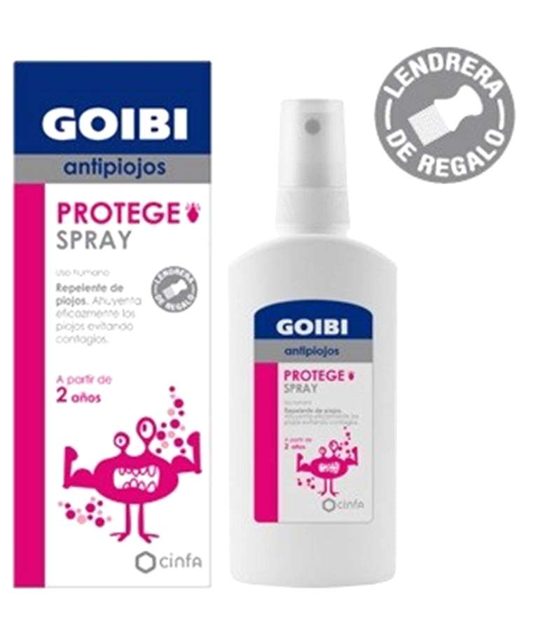 GOIBI REPELENTE DE PIOJOS SPRAY 125ML